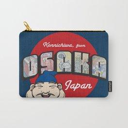 Konnichiwa from Osaka, Japan (Dotonbori) Carry-All Pouch
