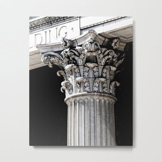Classic architectural column Metal Print