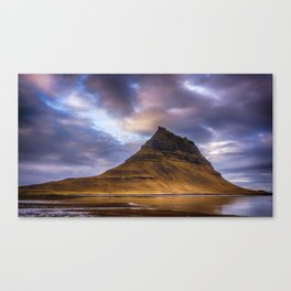 Church Mountain Iceland Canvas Print