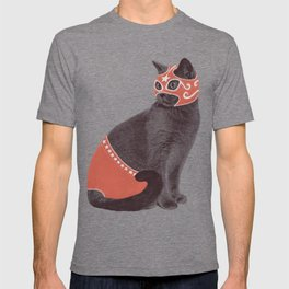 Cat Wrestler T-shirt