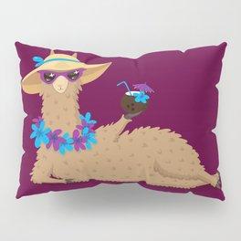 Bahama Llama Pillow Sham