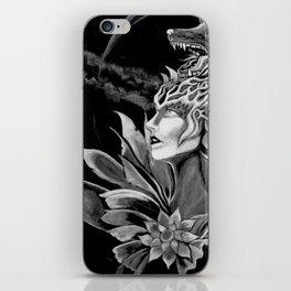 Wolf Goddess iPhone Skin