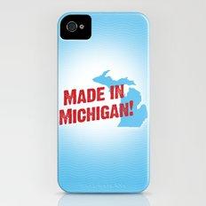 Made in Michigan Slim Case iPhone (4, 4s)