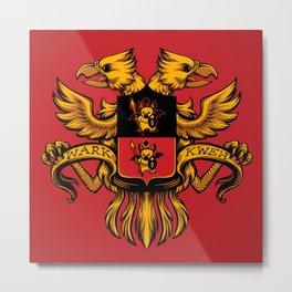 Crest de Chocobo Metal Print