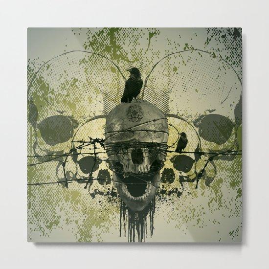 Awesome skull Metal Print