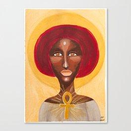 Goddess no 13 Canvas Print