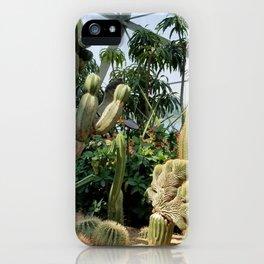 Cactus Garden 1 iPhone Case