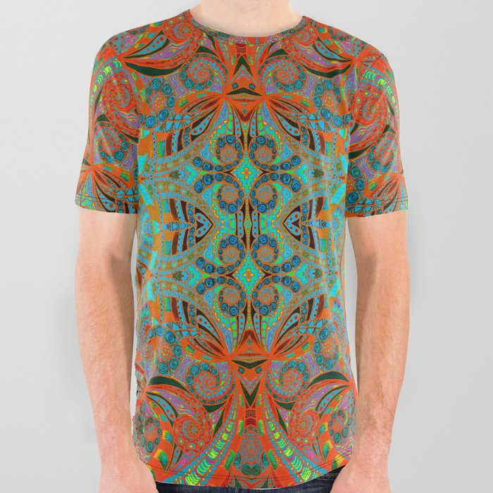 a6b35a31 Ethnic Style G250 All Over Graphic Tee by medusa81 | Society6