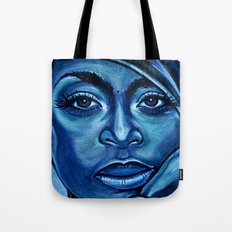 erykah?!../alternative-blue/ Tote Bag
