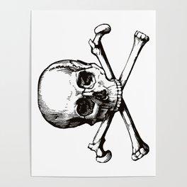 Skull and Crossbones | Jolly Roger Poster