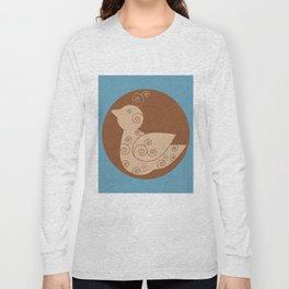 Spiral Bird Long Sleeve T-shirt