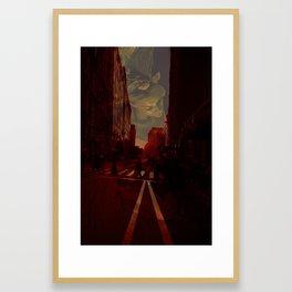 Cities and Desire II Framed Art Print