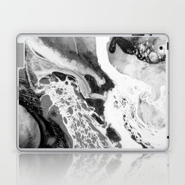 Black and white abstract Laptop & iPad Skin