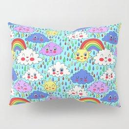 Scattered Showers Pillow Sham