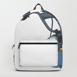 Motorcycle handlebar Backpack