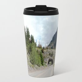 Driving the Spectacular, but Perilous Uncompahgre Gorge, No. 5 of 5 Travel Mug