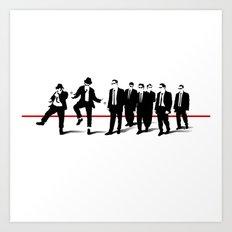 Reservoir Brothers Art Print