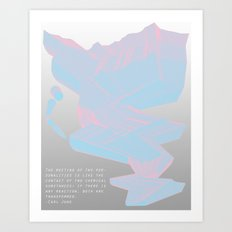 Chemistry in Repetition Art Print