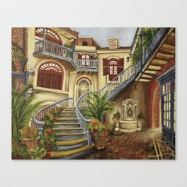 Court of Angels Canvas Print