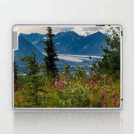Alaskan Glacier & Fireweed Laptop & iPad Skin