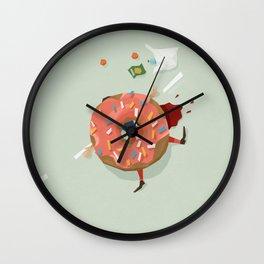 Killer Donut Wall Clock