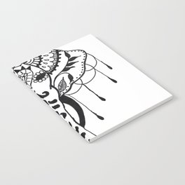 Mehndi Design Elephant by Ganesh Notebook