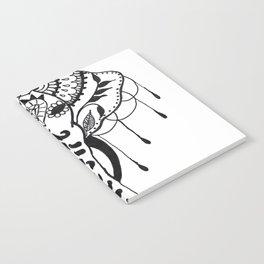 Mehndi Design Elephant by Ganesh Notebook