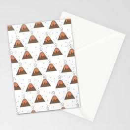 Volcano Pattern #1 Stationery Cards