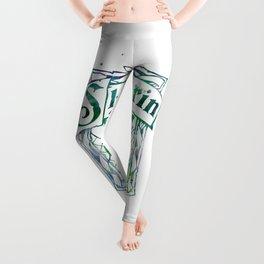 Slytherin Crest Leggings