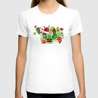 xmas T-shirts featuring Xmas monsters by Maria Jose Da Luz