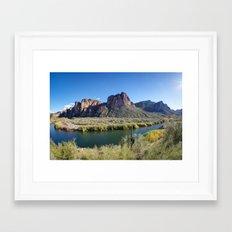 Salt River Framed Art Print