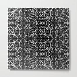 Veiling Metal Print
