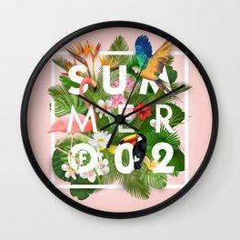 SUMMER of 02 Wall Clock