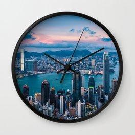 HONG KONG 03 Wall Clock