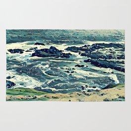 Coast of Australia Rug