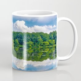 Lake Elkhorn beautiful lake forest beautiful landscape Columbia Maryland USA Coffee Mug