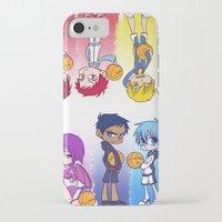 kuroko iPhone & iPod Cases featuring Kuroko no Basket by Jackce