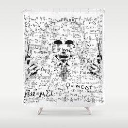 Albert Einstein III Shower Curtain