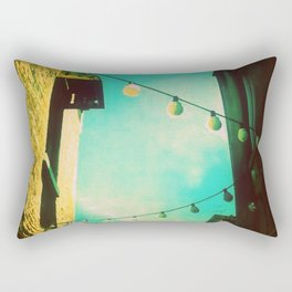 Valley Laneway in Lights  Rectangular Pillow