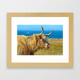 Highland Beauty Framed Art Print