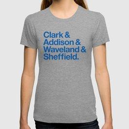 Clark & Addison & Waveland & Sheffield T-shirt