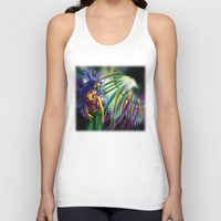 bass Tank Tops featuring Bass by A_Wags