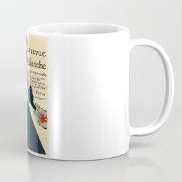 Belle Epoque vintage poster, La Revue Blanche Coffee Mug