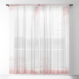 Colorful abstract background Sheer Curtain