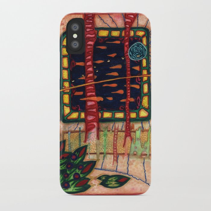 Spin Spidal and The Fish Television iPhone Case