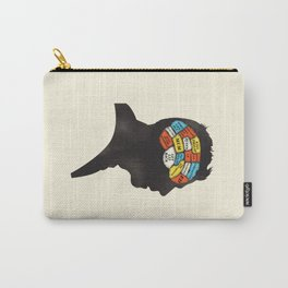 Shaun Phrenology Carry-All Pouch