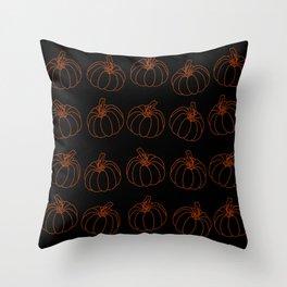 Pumpkin #5 Throw Pillow
