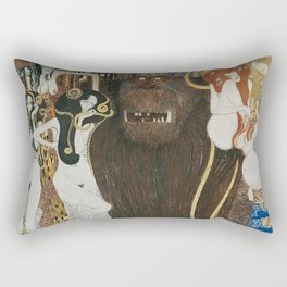 BEETHOVEN FRIEZE - GUSTAV KLIMT Rectangular Pillow