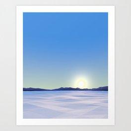 Arctic Vista Art Print