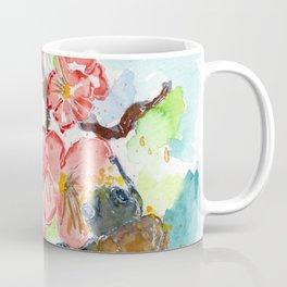 Floral Spring Feelings Watercolor Coffee Mug